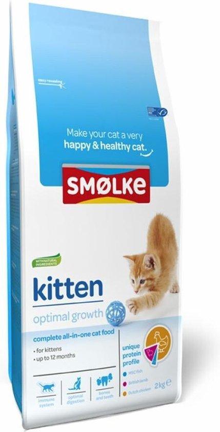Smolke Kitten Compleet - 4 kg