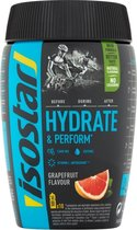 Isostar Hydrate & Perform Sportdrank - Grapefruit - Poeder - 400 gram