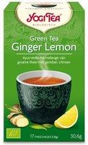 YogiTea Biologische Ginger Lemon Green Tea