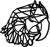Geometrische Dieren Papegaai