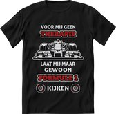 Formule 1 T-Shirt Heren – design Race shirt Dames – Perfect Max Verstappen tshirt Cadeau – Grappig Red Bul Racing shirt - Maat S