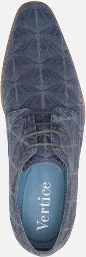 Vertice Veterschoenen blauw - Maat 45