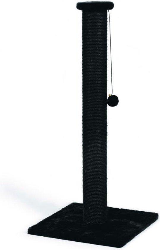 Beeztees Serpa - Krabpaal - Zwart - 40 x 40 x 90 cm
