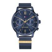 Tommy Hilfiger - 1782305 Horloge - Vrouwen - Blauw- RVS - Ø 38 mm