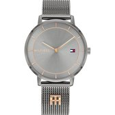 Tommy Hilfiger - 1782285 - Horloge - Vrouwen - Grijs- RVS - Ø 35 mm