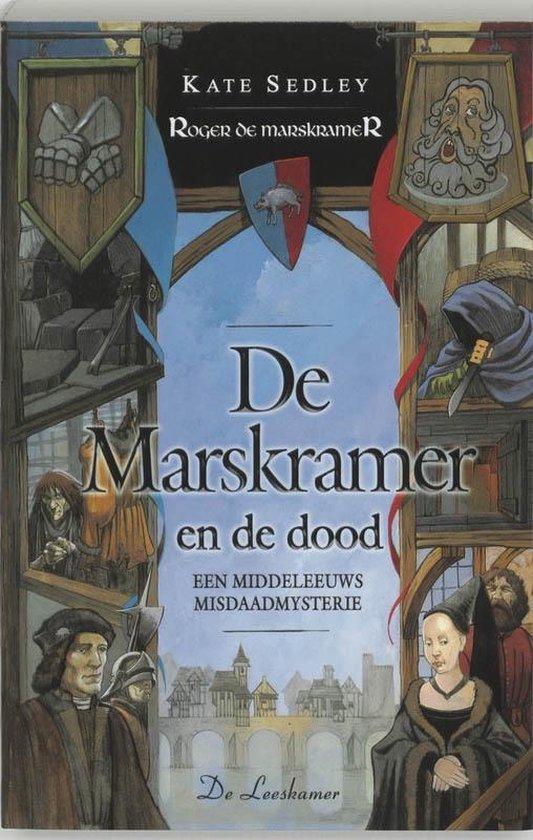 Cover van het boek 'De marskramer en de dood' van Kate Sedley