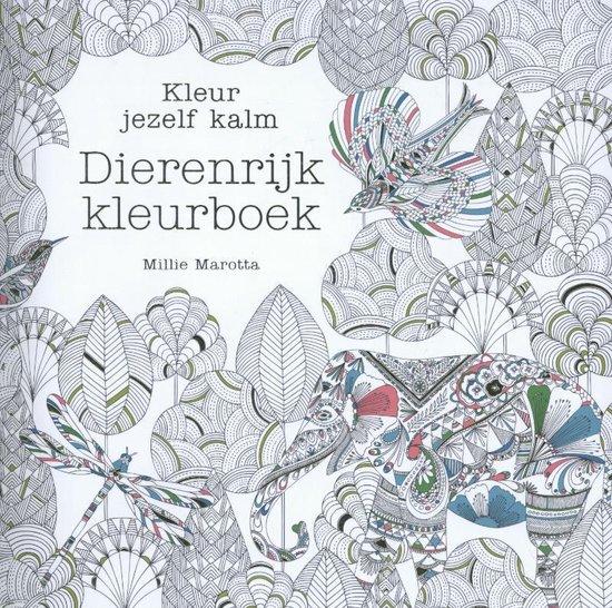 Kleur jezelf kalm  -   Dierenrijk kleurboek