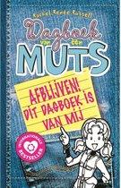 Boekomslag van 'Dagboek van een muts 8,5 -   Afblijven! Dit dagboek is van mij'
