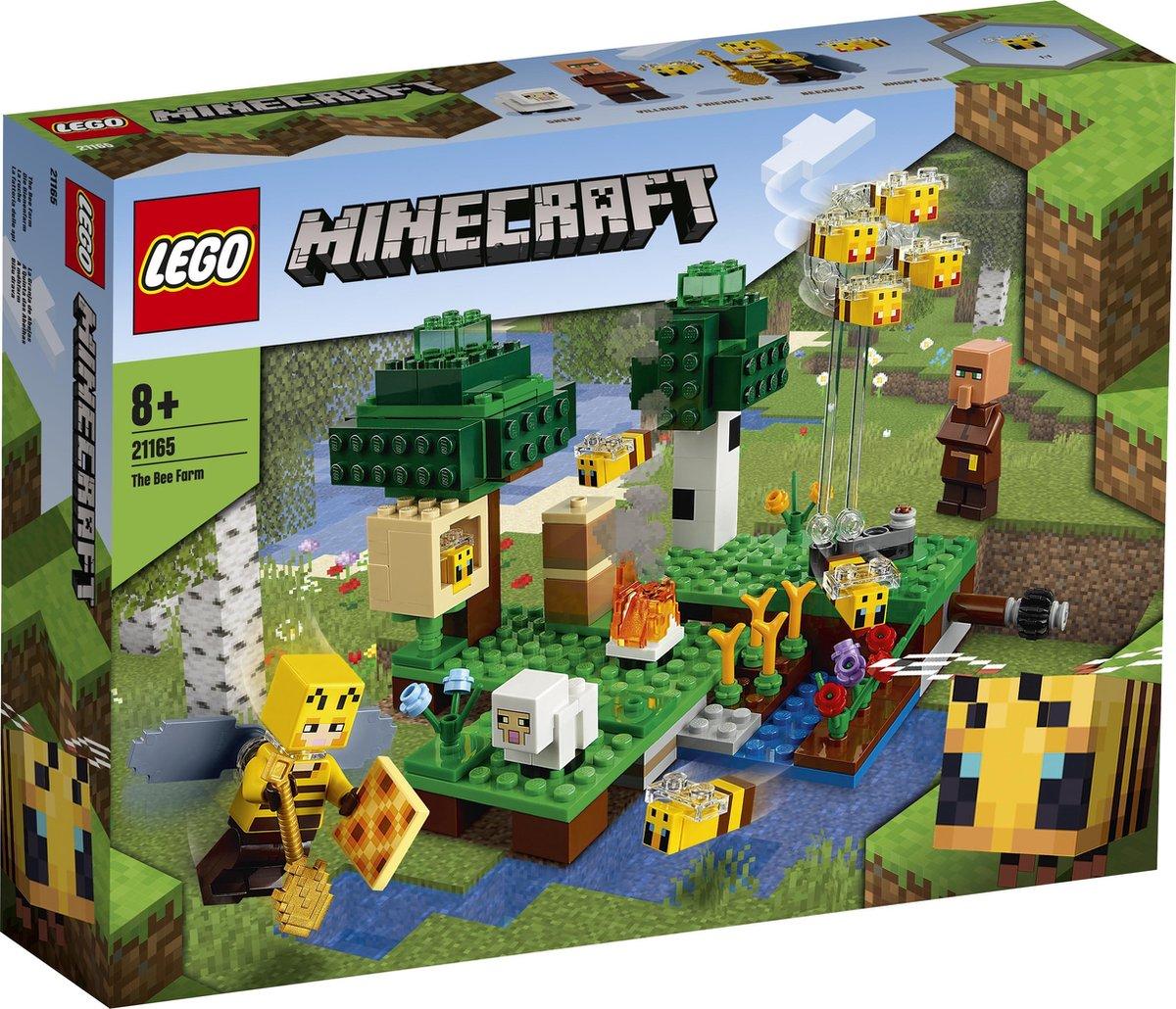 LEGO Minecraft De Bijenhouderij - 21165