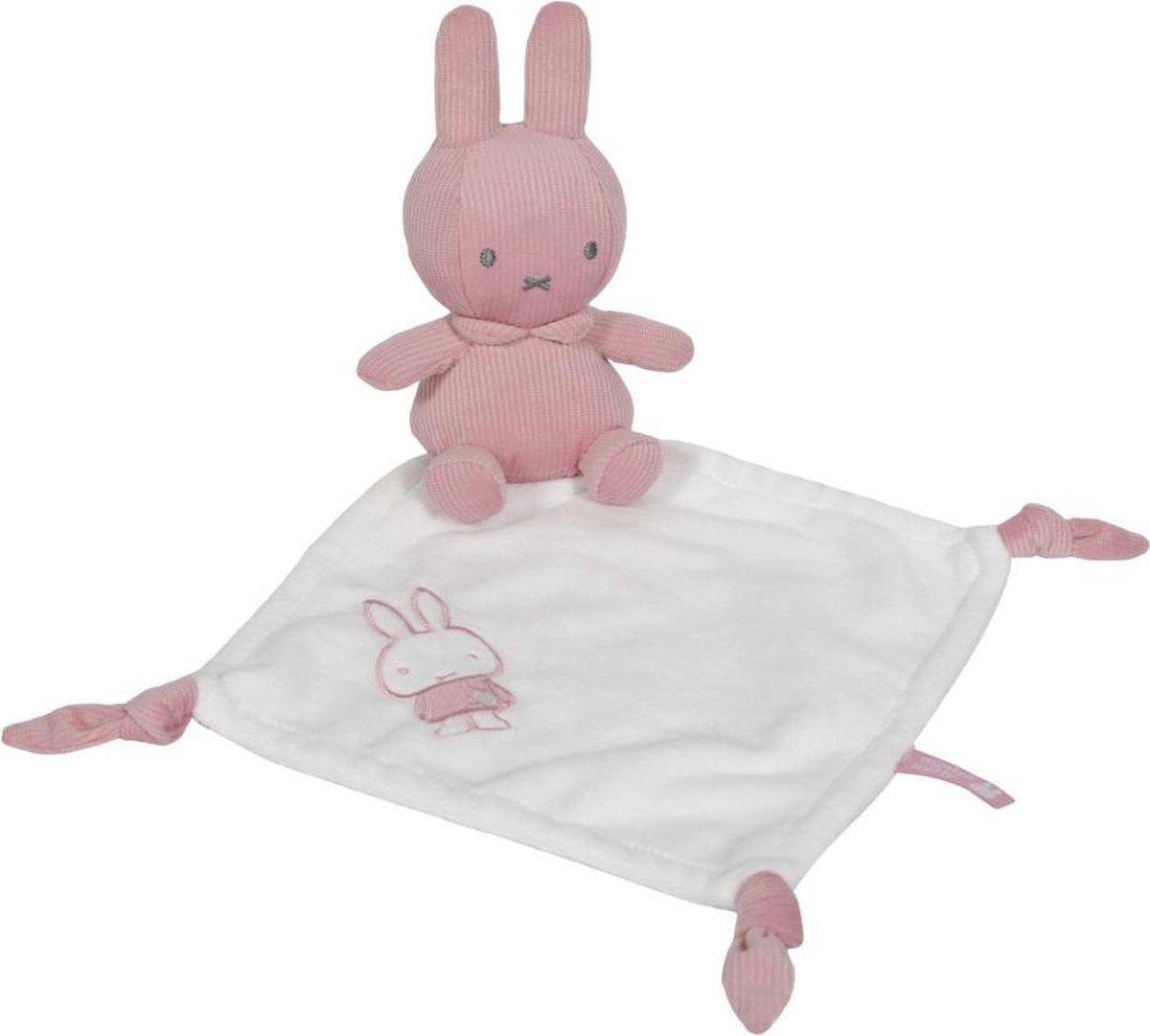 Tiamo Collection Knuffeldoekje nijntje - pink baby rib