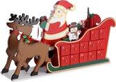Monzana Adventkalender Arreslee - met - lades
