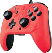 Faceoff Deluxe + Audio Wired Controller - Red Camo - Nintendo Switch