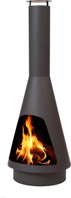Terrashaard vuurkorf open haard La Luz 50x140cm