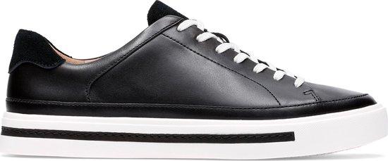 Clarks – Dames schoenen – Un Maui Tie – D – black leather – maat 6