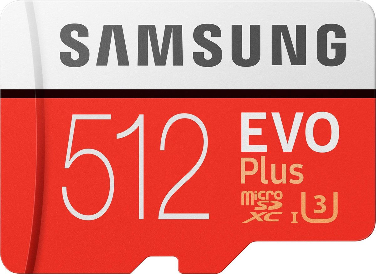 Samsung Evo Plus MicroSDXC 512GB - met adapter