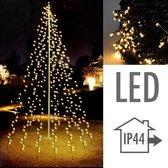 Vlaggenmast kerstverlichting - 8 meter - 400 LED's