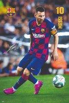 Fc Barcelona 19-20 Messi Accion Poster 61x91.5cm