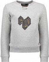 Like Flo Meisjes Sweater - Grijs - Maat 110