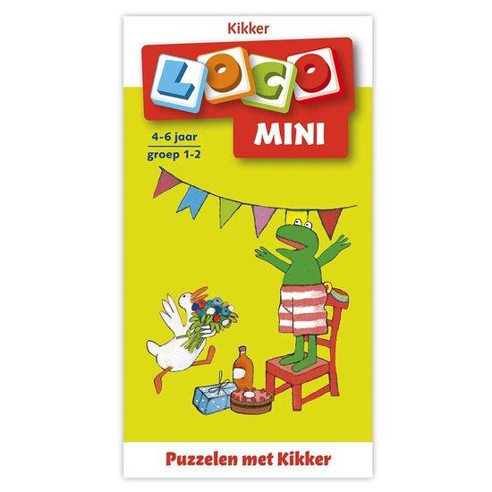 Boek cover Loco Mini  -   Loco mini puzzelen met kikker van  (Paperback)