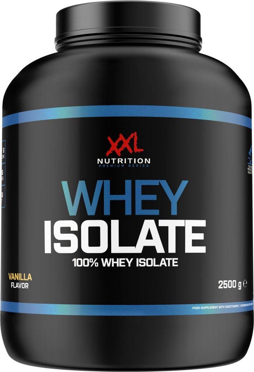 XXL Nutrition Whey Isolaat - Proteïne Poeder / Proteïne Shake - Aardbei 2500 gram