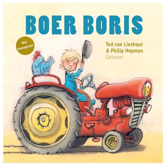 Boer Boris  -   Boer Boris (met bouwplaat)