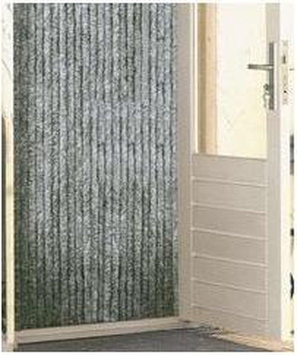 Kattenstaart - 56x180 cm - Grijs/Wit - Wicotex
