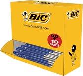Balpen Bic M10 Blauw Voordeelpak