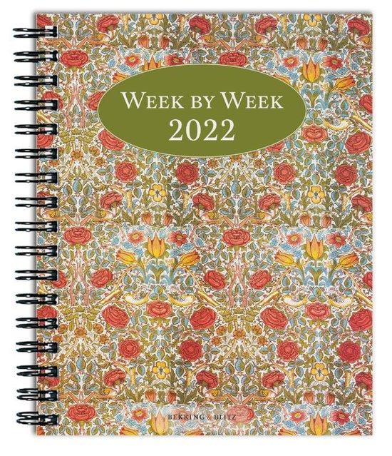 Afbeelding van Week by week weekagenda 2022