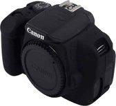 PULUZ zachte siliconen beschermhoes voor Canon EOS 650D / 700D (zwart)
