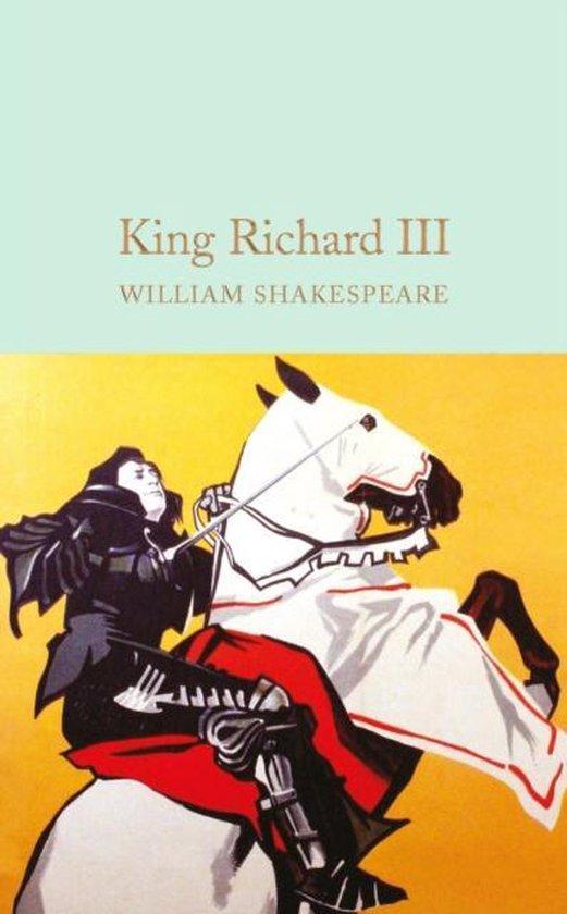 Boek cover King Richard III van William Shakespeare