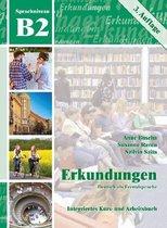 Erkundungen DaF B2 Kurs-/Arbeitsbuch + Audio-CD