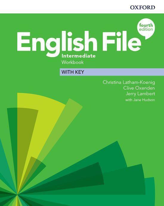 Boek cover English File - Int (fourth edition) wb with key van Christina Latham-Koenig (Paperback)