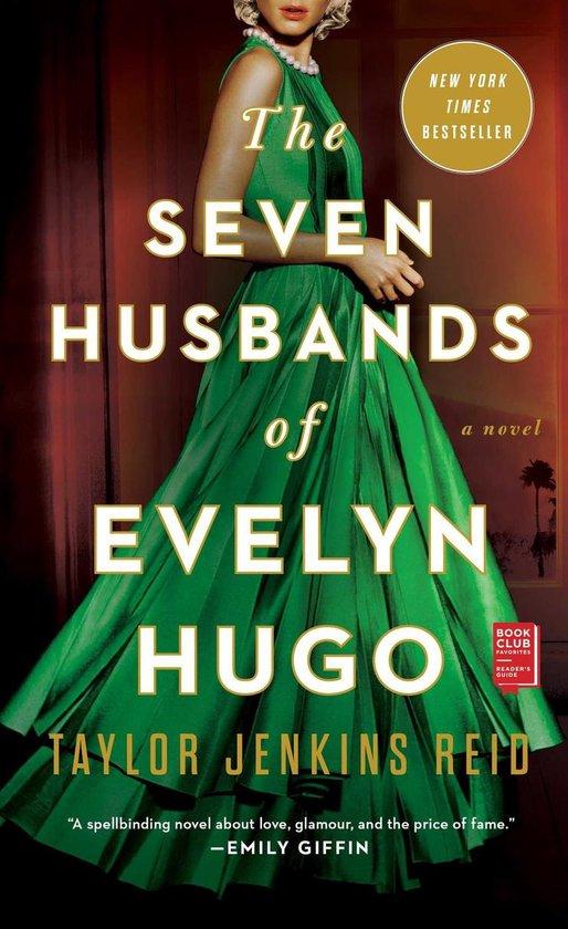 Boek cover The Seven Husbands of Evelyn Hugo van Taylor Jenkins Reid (Onbekend)