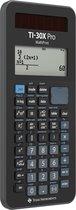 Texas Instruments TI-30X Pro MathPrint CAS calculator Black Display (digits): 16 battery-powered, solar-powered
