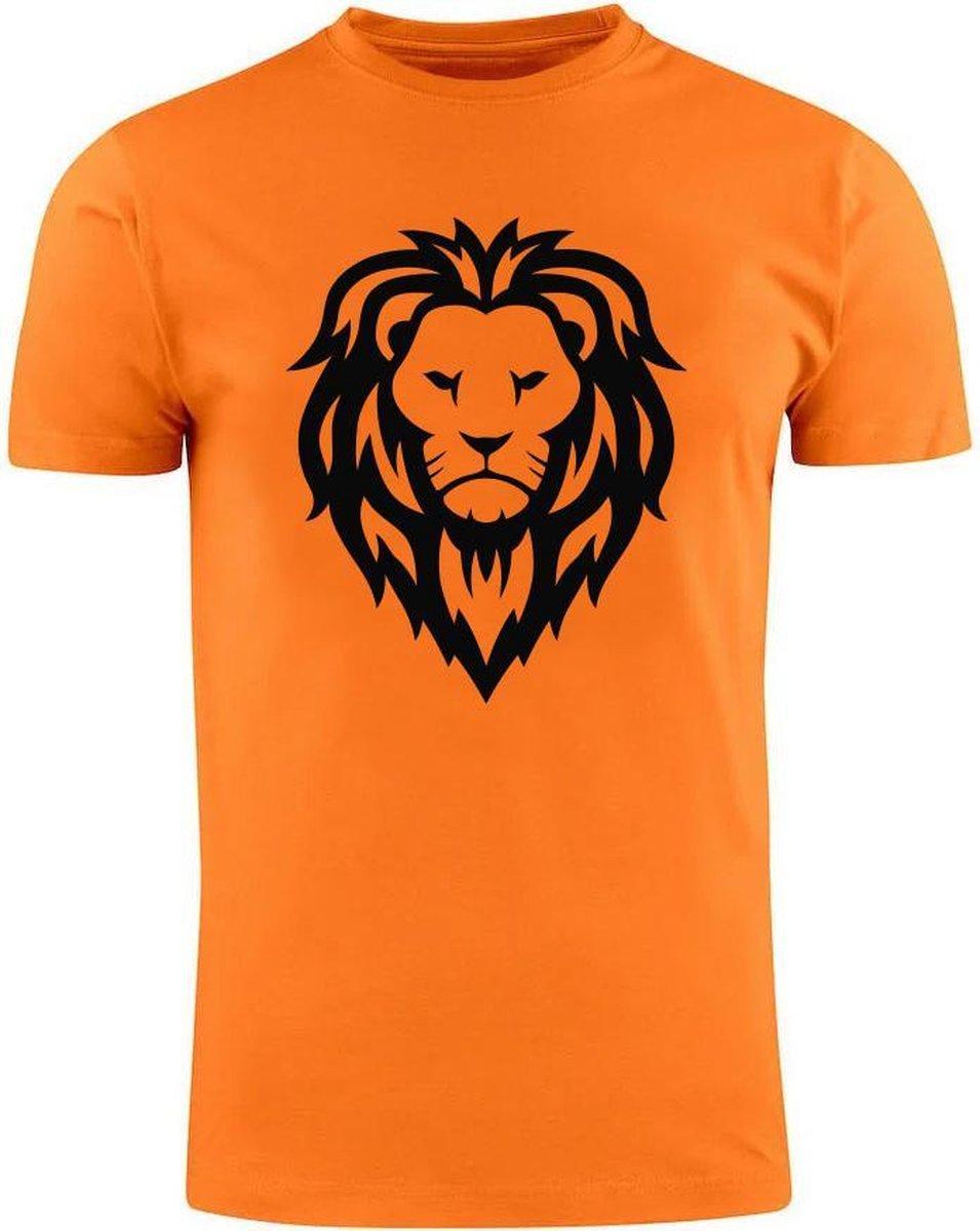 Oranje Nederlands Elftal Heren t-shirt   EK   WK   leeuw   barkeeper   holland