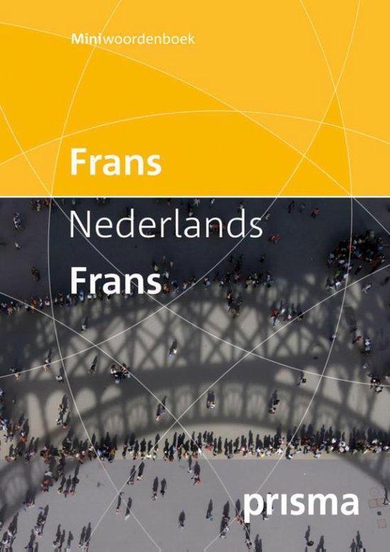 Prisma miniwoordenboek Frans-Nederlands Nederlands-Frans - Prisma Redactie  