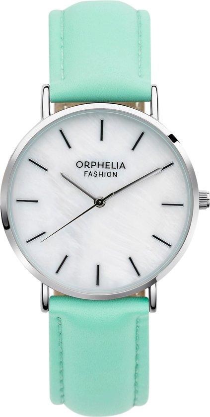 Orphelia Perla OF711806 Horloge – Leer – Groen – Ø 36 mm