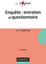 Enquête : entretien et questionnaire - 3e édition