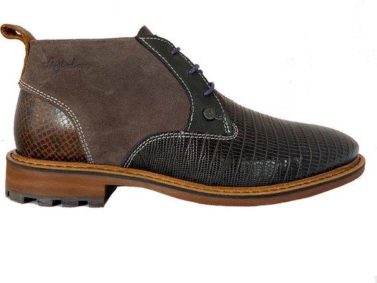 Grijze Australian Veterschoenen Gateway Leather