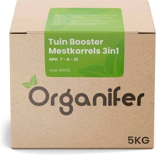 Tuin Booster Mestkorrels 3in1 (5Kg – Voor 50m2) Voor alle planten en gewassen in Siertuin, Moestuin, Boomgaard