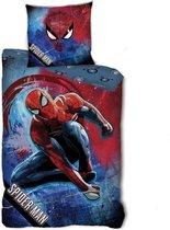 SpiderMan Dekbedovertrek Mask - Eenpersoons - 140