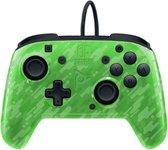Faceoff Deluxe+ Audio Nintendo Switch Controller - Green Camo