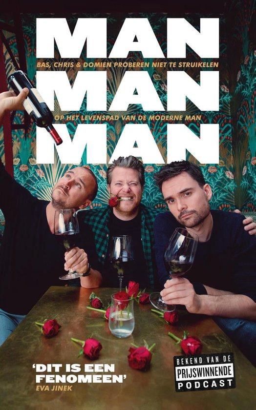 Boek cover Man man man, het boek van Domien Verschuuren (Onbekend)