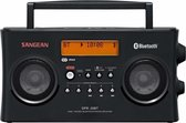 Sangean-DPR-26BT -Draagbare radio met Bluetooth en DAB+ - Zwart