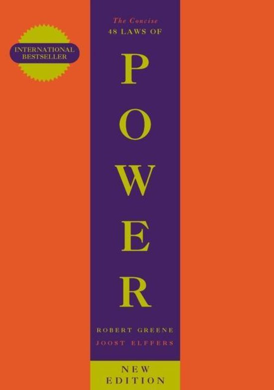 Boek cover The Concise 48 Laws Of Power van Robert Greene (Paperback)
