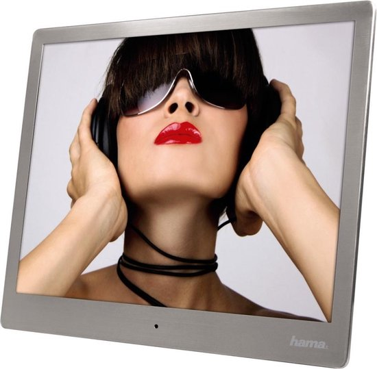 Hama Digitale Fotolijst - Slimline 9.7 - Zilver
