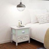 vidaXL Nachtkastje Franse stijl hout