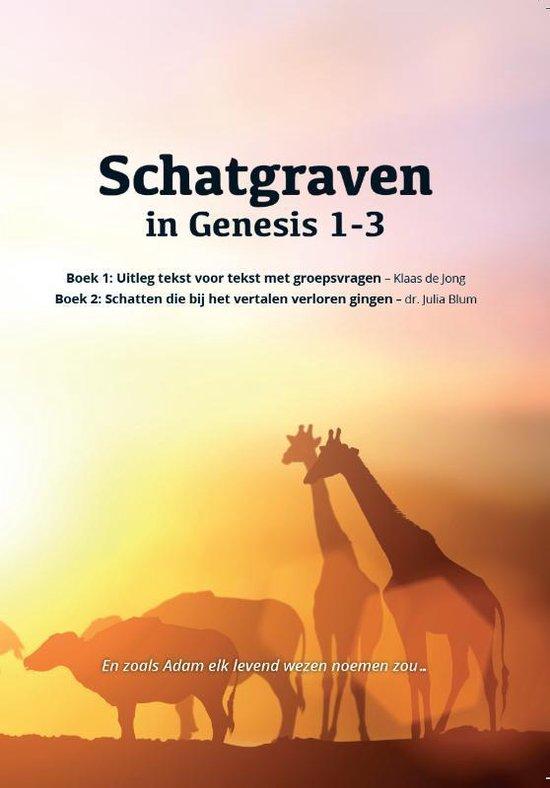 Boek cover Schatgraven in Genesis 1-3 van Klaas de Jong (Paperback)
