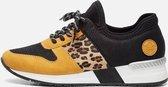 Rieker Sneakers geel - Maat 37