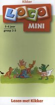 Loco Mini  -   Loco mini lezen met kikker (boekje)
